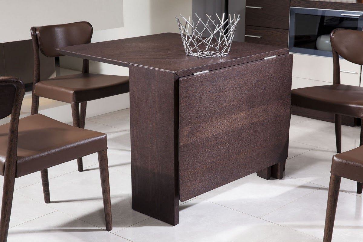 Endearing Folding Table Design Of Wood Color Acnn Decor