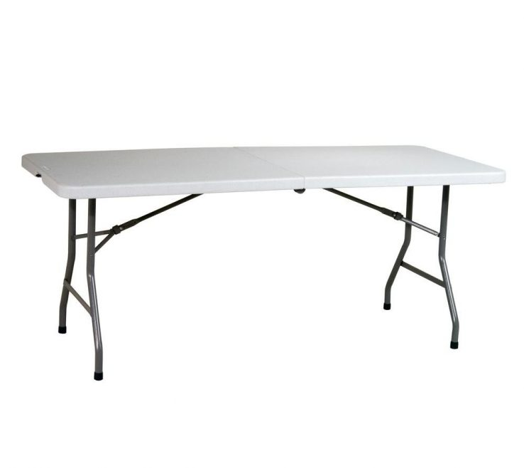 Endearing Folding Tables On Wheels Of Work Smart Light Grey Center Fold Multi Purpose