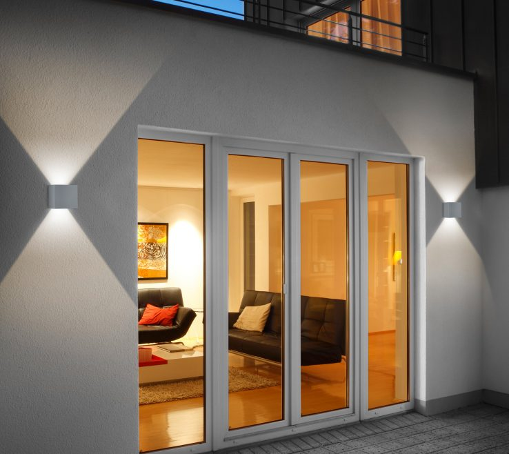 Endearing Led Lighting Ideas For Home Of Outdoor Of Wall Sconces With Light Bulbs