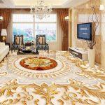 Enthralling Floor Decoration Of Beibehang Flooring d Wallpapers European Style Living