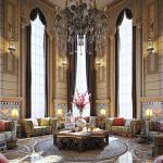 Enthralling Middle Eastern Home Decor Of Moroccan Style Living Room And Task Lighting