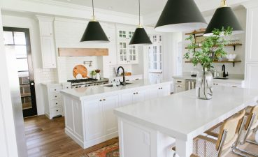 Entrancing Contemporary White Kitchen Designs