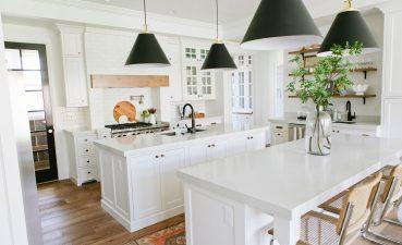 Entrancing Contemporary White Kitchen Designs