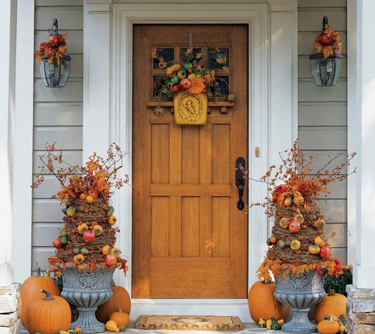 Entrancing Inside Door Decorations Of Bring Fall