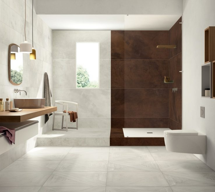 Entrancing Italian Ceramic Floor Tiles Of Mansion Wood Look Bathroom Tiles