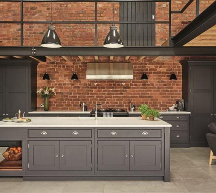 Exposed Brick Kitchen Ideas Of Creative Cute