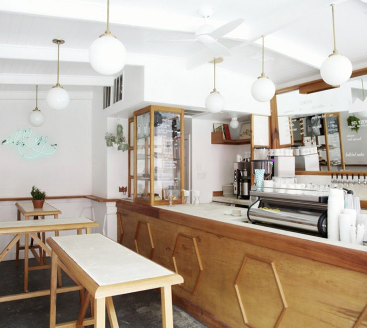 Exquisite Coffee Shop Design Ideas Of In This Californian Are Light Wood Panels