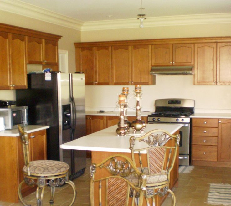 Extraordinary Cream Brown Paint Of Nice Kitchens And Colored Kitchen S
