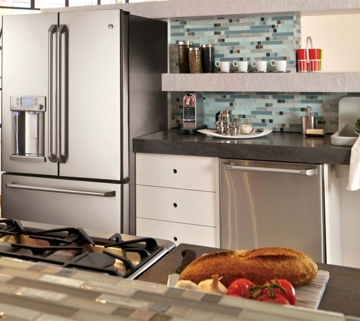 Extraordinary Stainless Steel Kitchen Design Of Ge Superbliances Photo Gallery