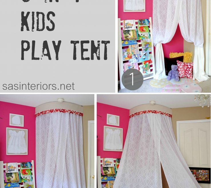 Extraordinary Tents For Kids Rooms Of Diy In Play Tent