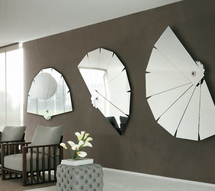 Eye Catching Focal Point Interior Design Of Mirror As