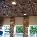 Eye Catching Interior Design Walls And Ceiling Of Tin