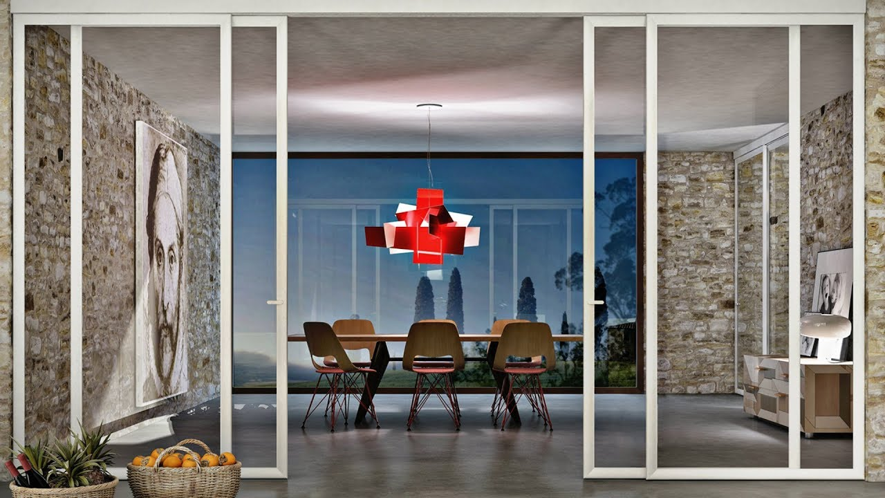 eye catching interior partitions for homes of glass wall home ideas wall 145