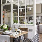 Eye Catching Wall Glass Design Interior Of Kitchen Interior Kitchen Decor Kitchen Kitchen Layout