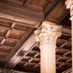 Fascinating Column Designs For Interior Of Architecture Structure Wood Floor Beam Ceiling Pillar