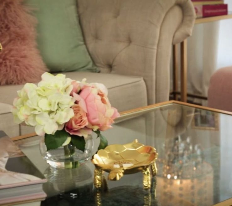 Fascinating Flowers For Coffee Table Of Ways To Style A