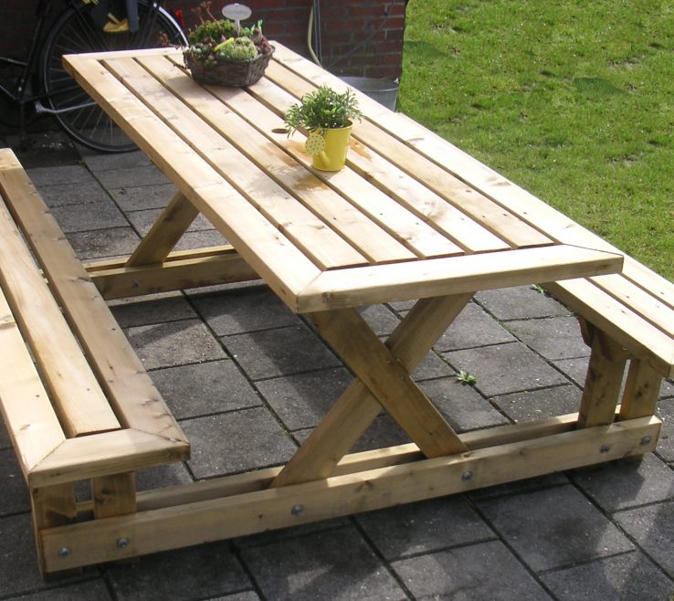 Fascinating Fold Down Picnic Table