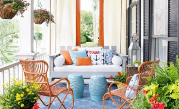 Fascinating Home Front Decor Ideas Of Porch