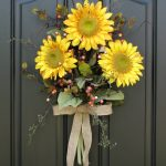 Flower Arrangements For Front Door Of Image Of Summer