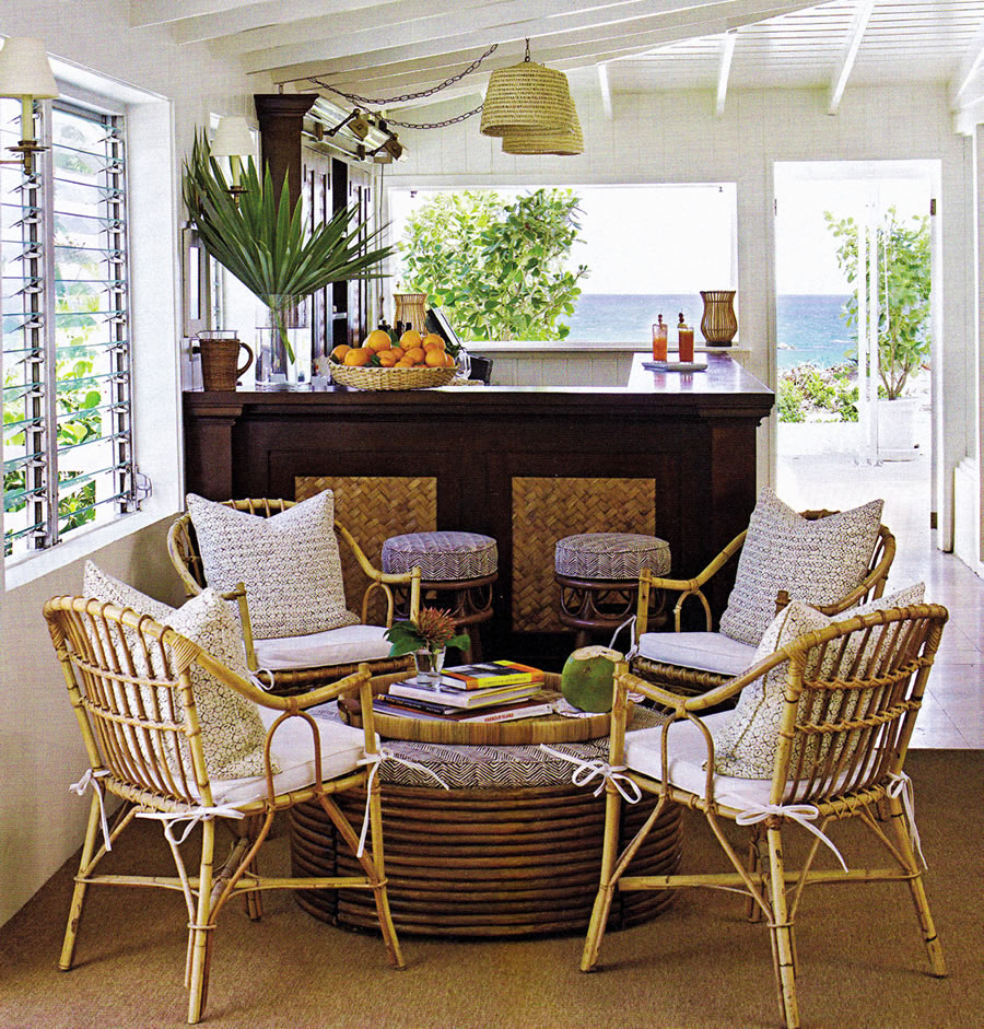 Fortable Sunroom Furniture Of Casual Design With Unique Rattan