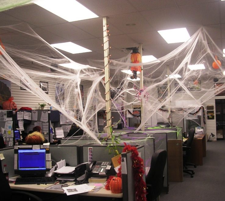 Fun Office Decorating Ideas Of Perfect Decoration Halloween Decoration Intended N