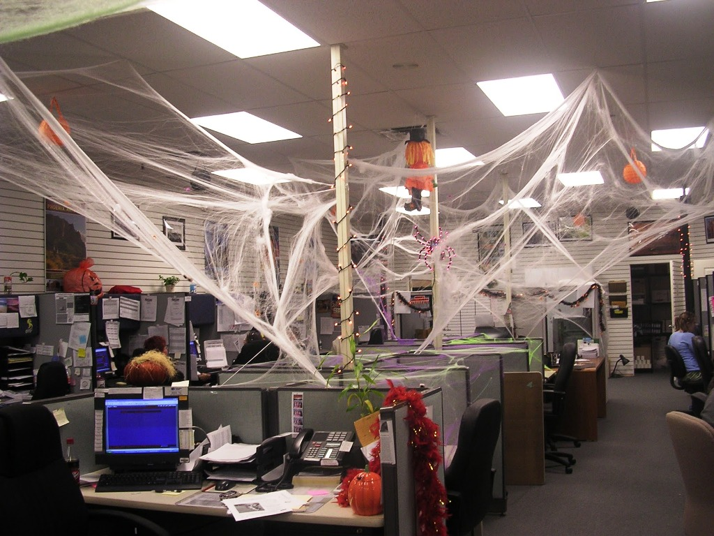 86 Halloween Office Cube Decorating Ideas