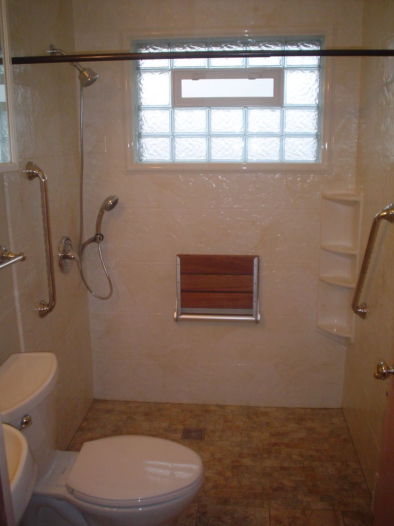 Handicap Shower Ideas Of Barrier Free Wheelchair Accessible