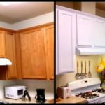 Impressing Kitchens Painted Orange