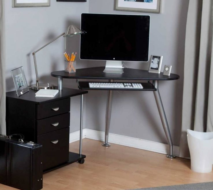 Impressing Office Desk For Small Space Of Latest Puter Corner Puter