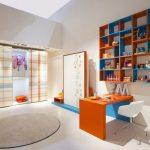 Impressing Orange And Blue Decorating Ideas Of Baby Nursery Adorable Bedroom Great Delightful Bedrooms