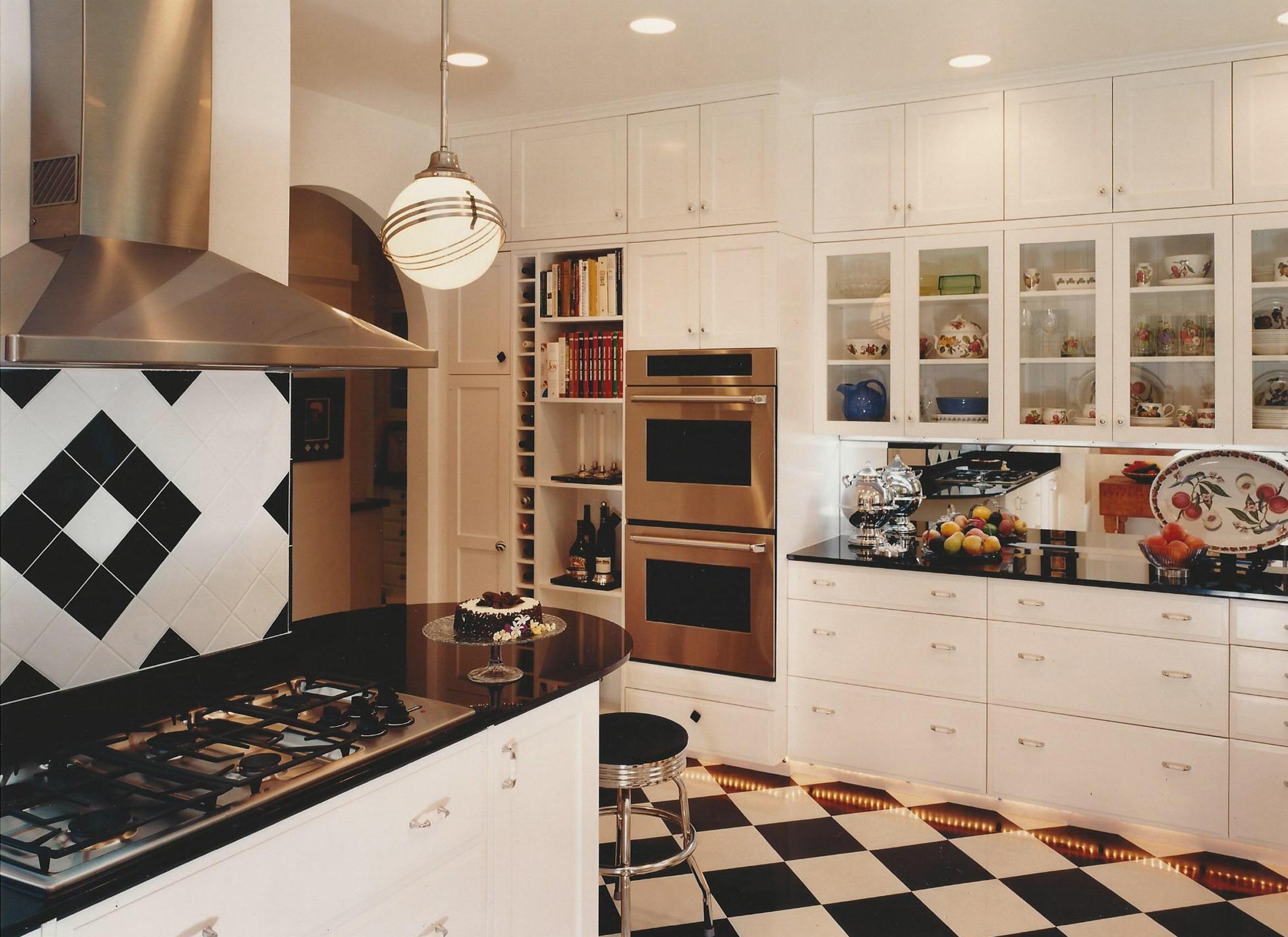 Art Deco Kitchen Cabinets Acnn Decor