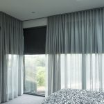 Impressive Curtains With Matching Roman Blinds Of Sheer andamp Sunscreen Roller dollarcurtainsandblinds