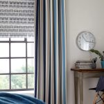 Impressive Curtains With Matching Roman Blinds Of Vivaldi Pacific Brownmore Lane