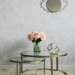 Impressive Flowers For Coffee Table Of Round Glass