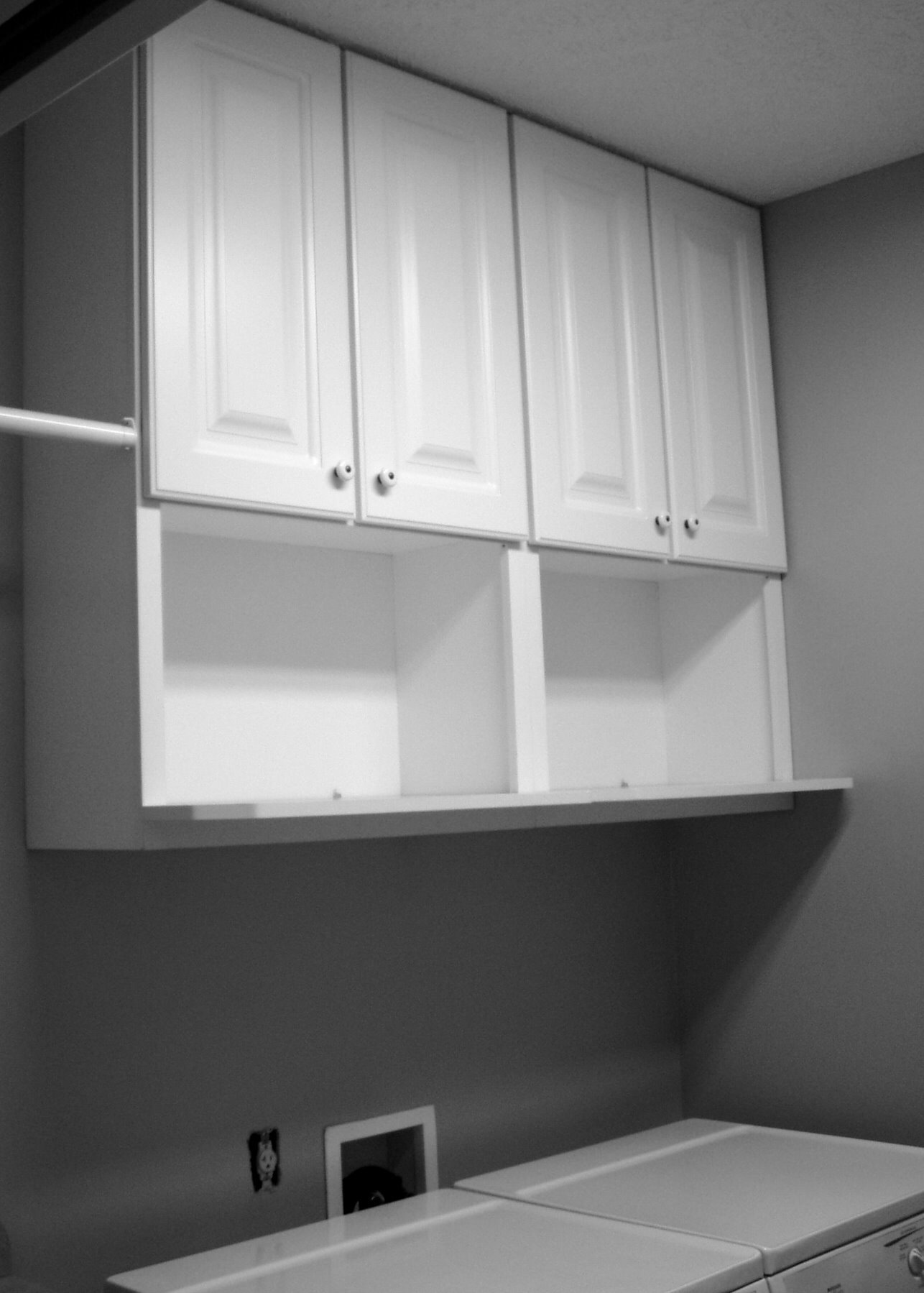 Ing Laundry Room Storage S Ideas Of White Painted Wooden Wall With Shelves Designed Acnn Decor
