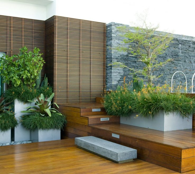 Ing Roof Garden Design Of Modern