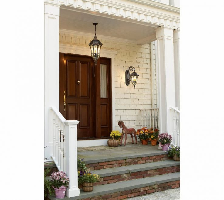 Inspiring Front Entry Lights Of Outdoor Chandeliers For Porches Outside Light Post