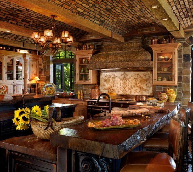 Inspiring Mediterranean Kitchen Design Of Your Dramatic