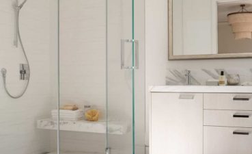 Inspiring Modern Bathroom Showers Of Featured Shower Stall With Seat