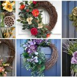 Interior Design For Flower Arrangements For Front Door Of Beautiful Flowers Ideas Springflowers Wreath