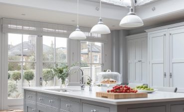 Interior Design For Kitchen With Skylights Of This Gray