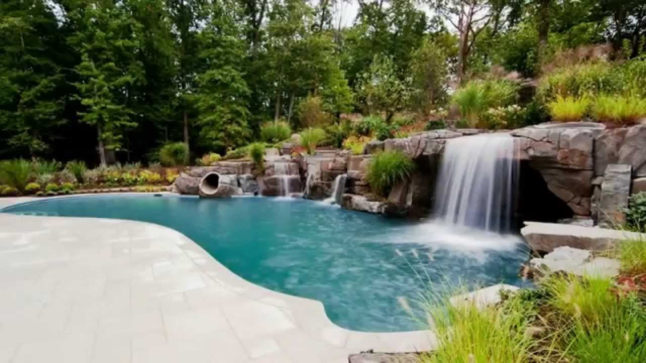 Interior Design For Swimming Pool Waterfall Designs Of Youtube