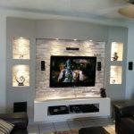 Interior Design Walls And Ceiling Of Innovación Tv Unit Tv Wall Units Built