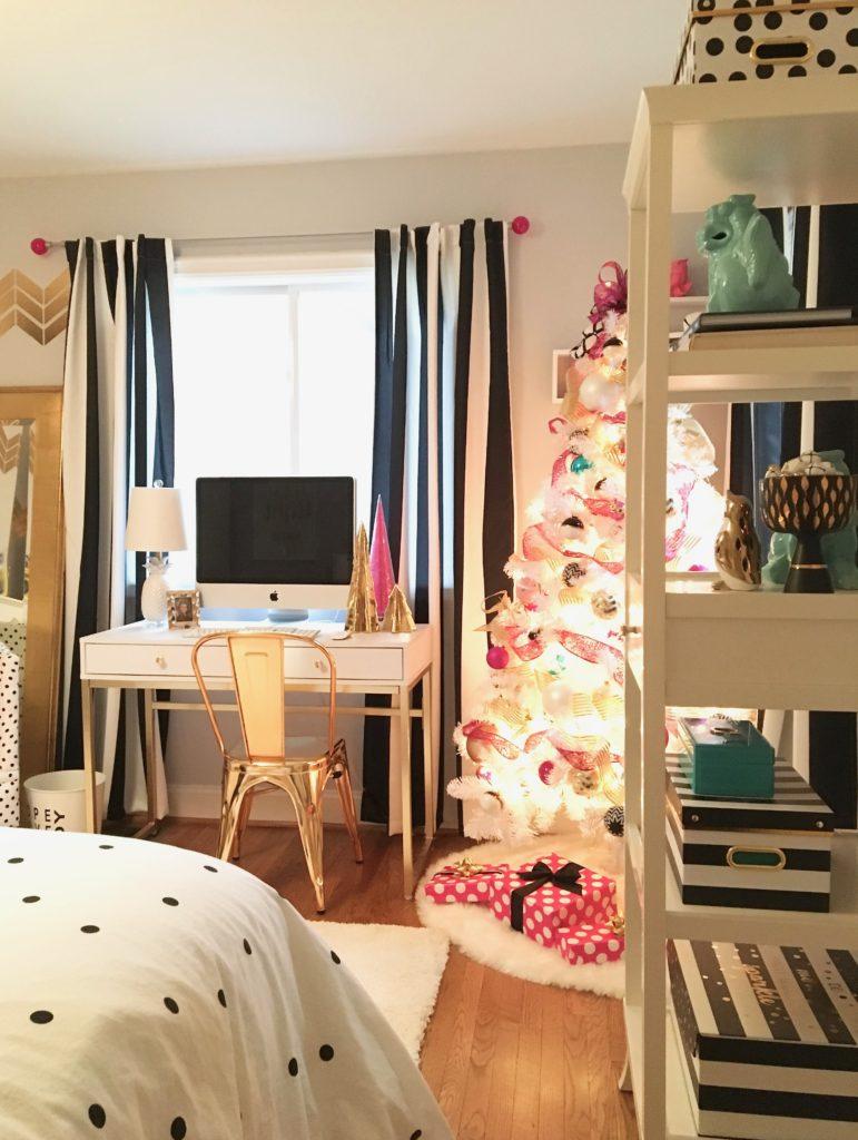 Likeable Black And White Rooms For Teens Of Meme Hill Black White Christmas Tree Teen Room Acnn Decor