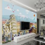 Likeable Mural Interior Design