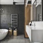 Lovely Black Toilet Bathroom Design Of Chic Elegantn American Decor And Beautiful
