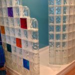 Lovely Glass Block Fireplace Of How Pare Shower Pans For A