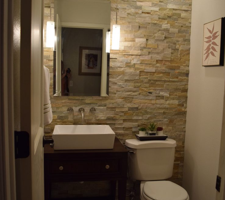Lovely Remodeling A Bathroom Ideas Of Gloomy To Glam Bath Remodel Mommys Tool