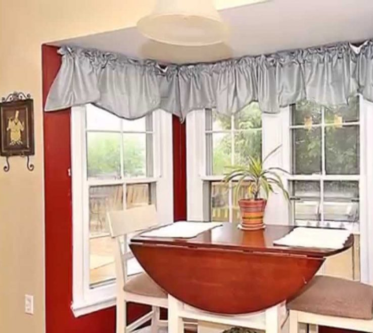 Magnificent Kitchen Bay Window Decorating Ideas Of Amazing Breakfast Nook As The Unique Acnn Decor