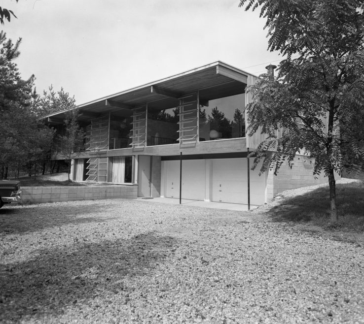 Magnificent Mid Century Modern Exterior Of Of Smith Mid Century Home On Country Club
